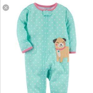 Carter's Blue Light Sleeper Pajama